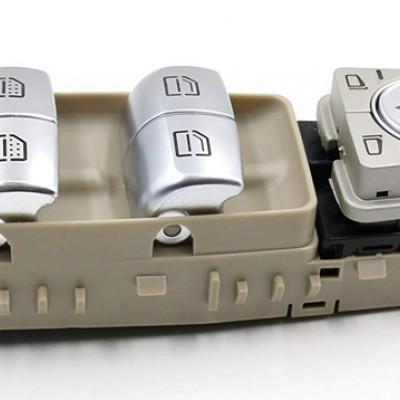 Cam Düğme Seti Mercedes C - E - S - Vito Serisi